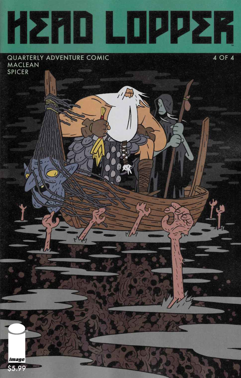 Head Lopper #4 Cover A [Image Comic] THUMBNAIL