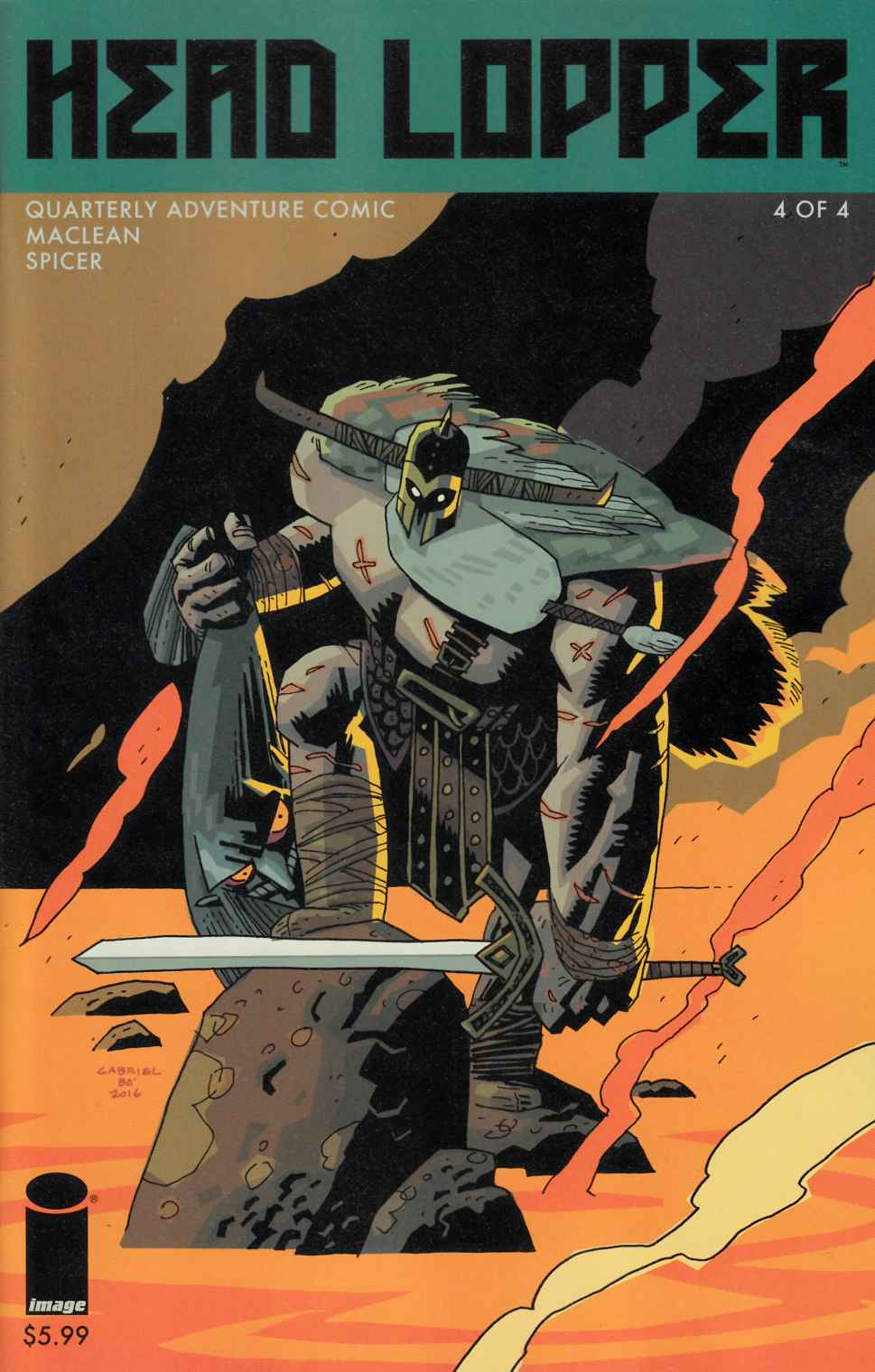 Head Lopper #4 Cover B [Image Comic] THUMBNAIL