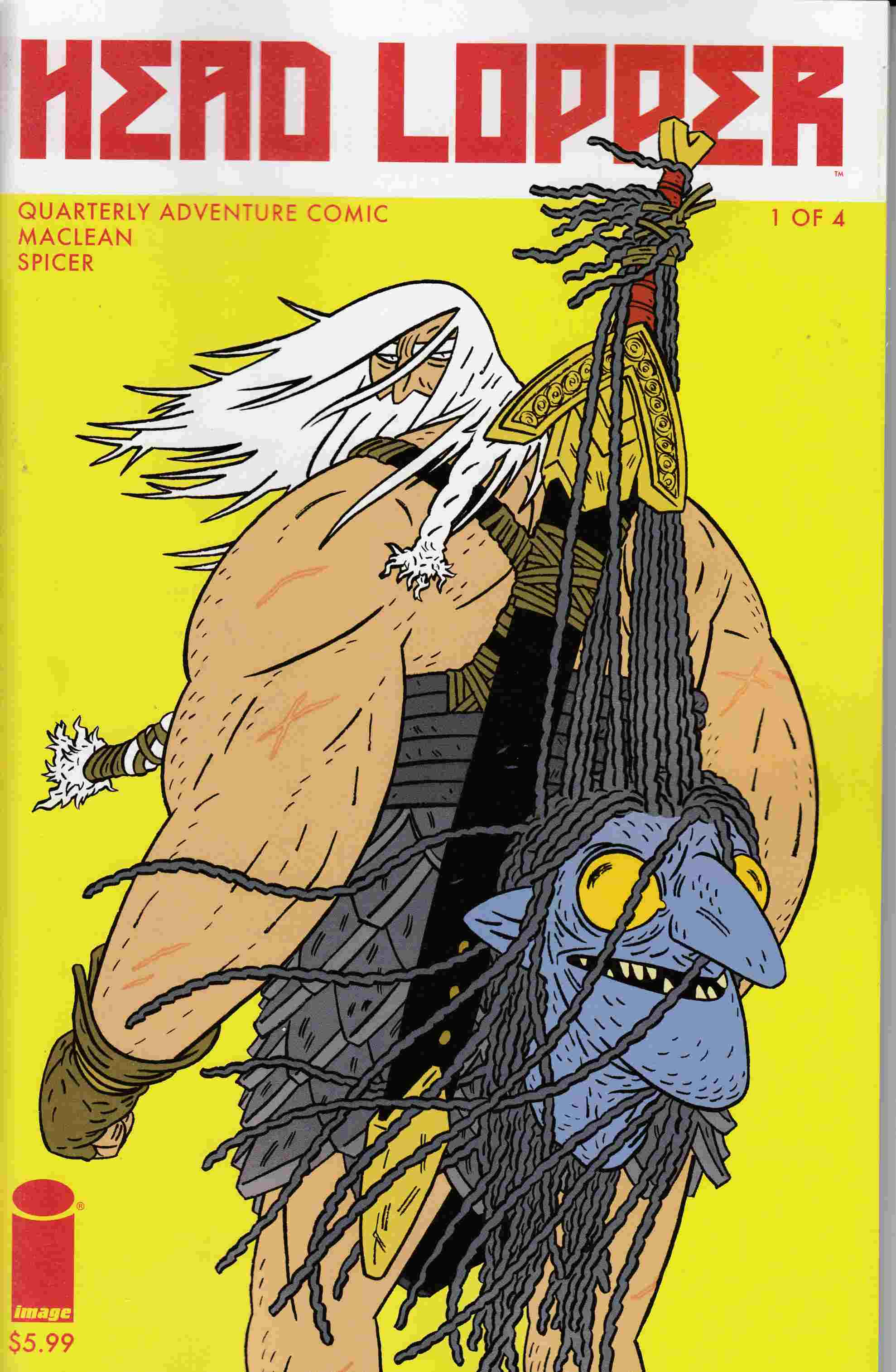 Head Lopper #1 Cover A- Maclean [Image Comic] LARGE