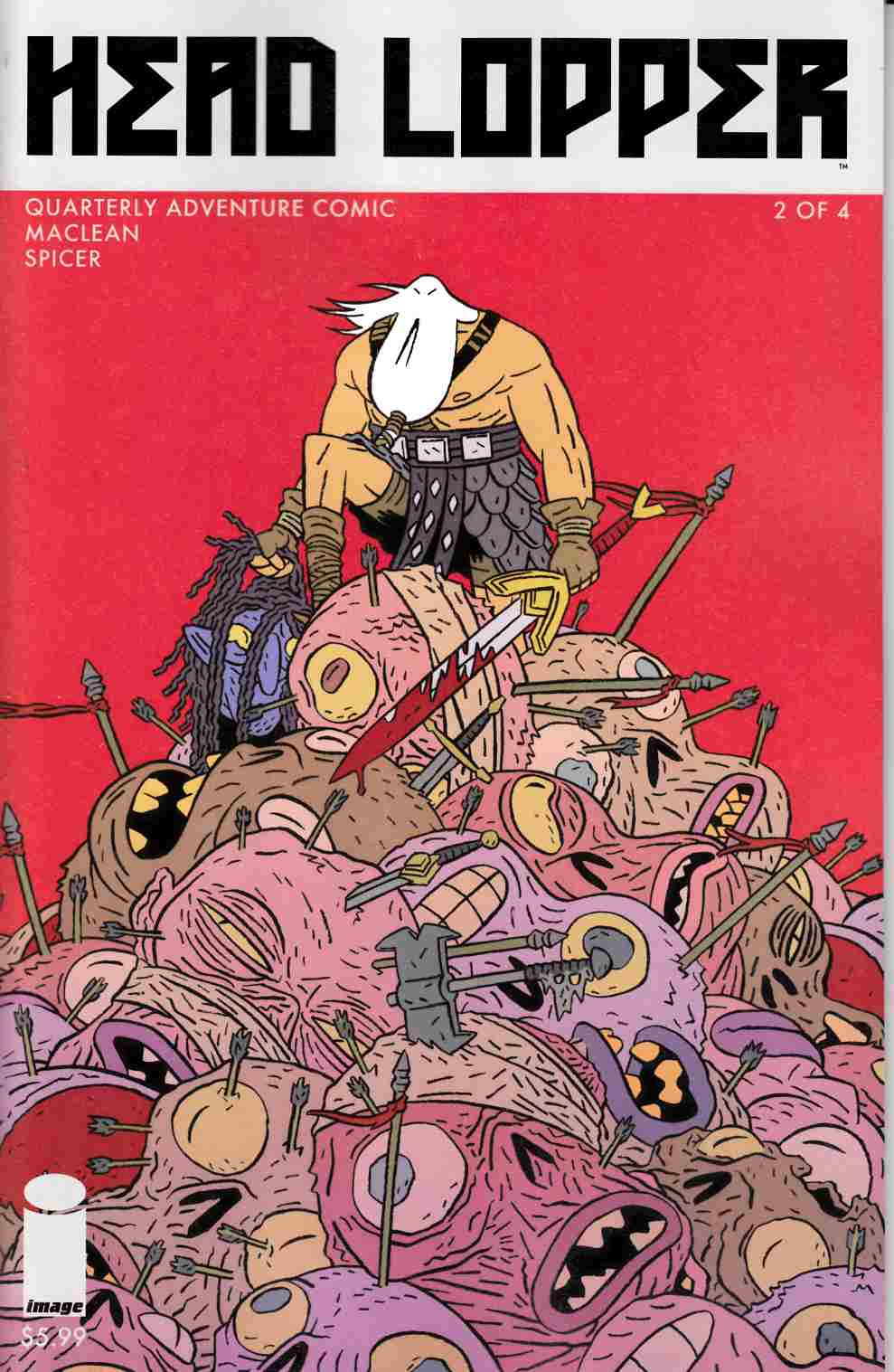 Head Lopper #2 Cover A- Maclean [Image Comic] THUMBNAIL