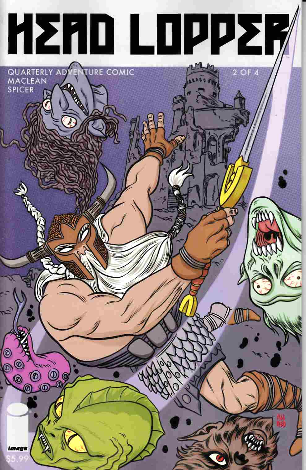 Head Lopper #2 Cover B- Allred [Image Comic] THUMBNAIL