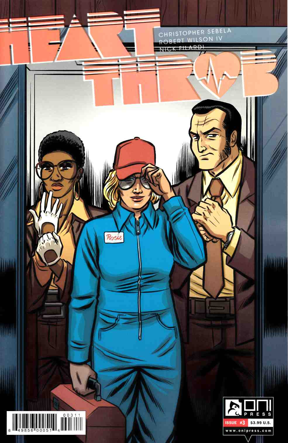 Heartthrob #3 [Oni Press Comic] THUMBNAIL