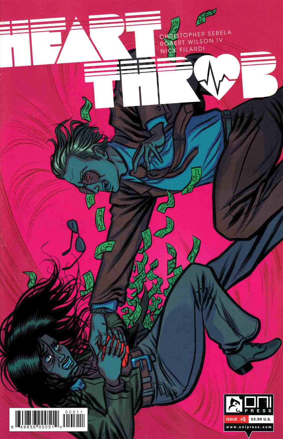 Heartthrob #5 [Oni Press Comic] LARGE