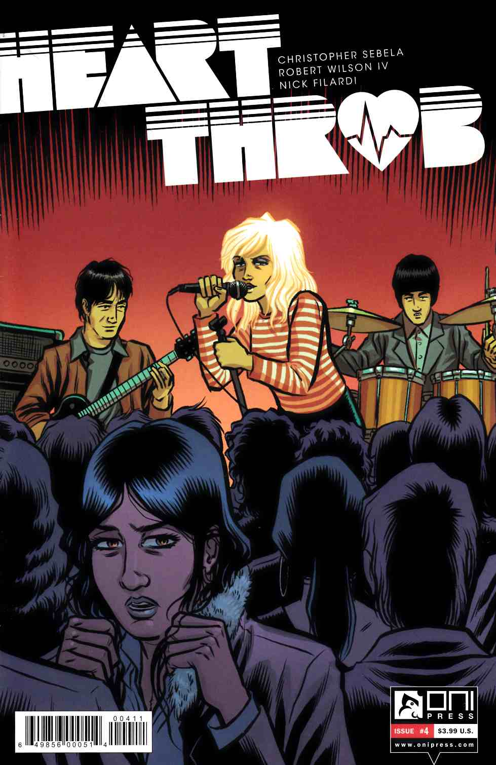 Heartthrob #4 [Oni Press Comic] THUMBNAIL