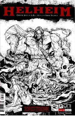 Helheim #1 Black &  White Preview Edition [Comic] LARGE