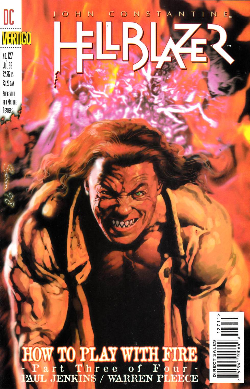 Hellblazer #127 Near Mint (9.4) [DC Comic] LARGE