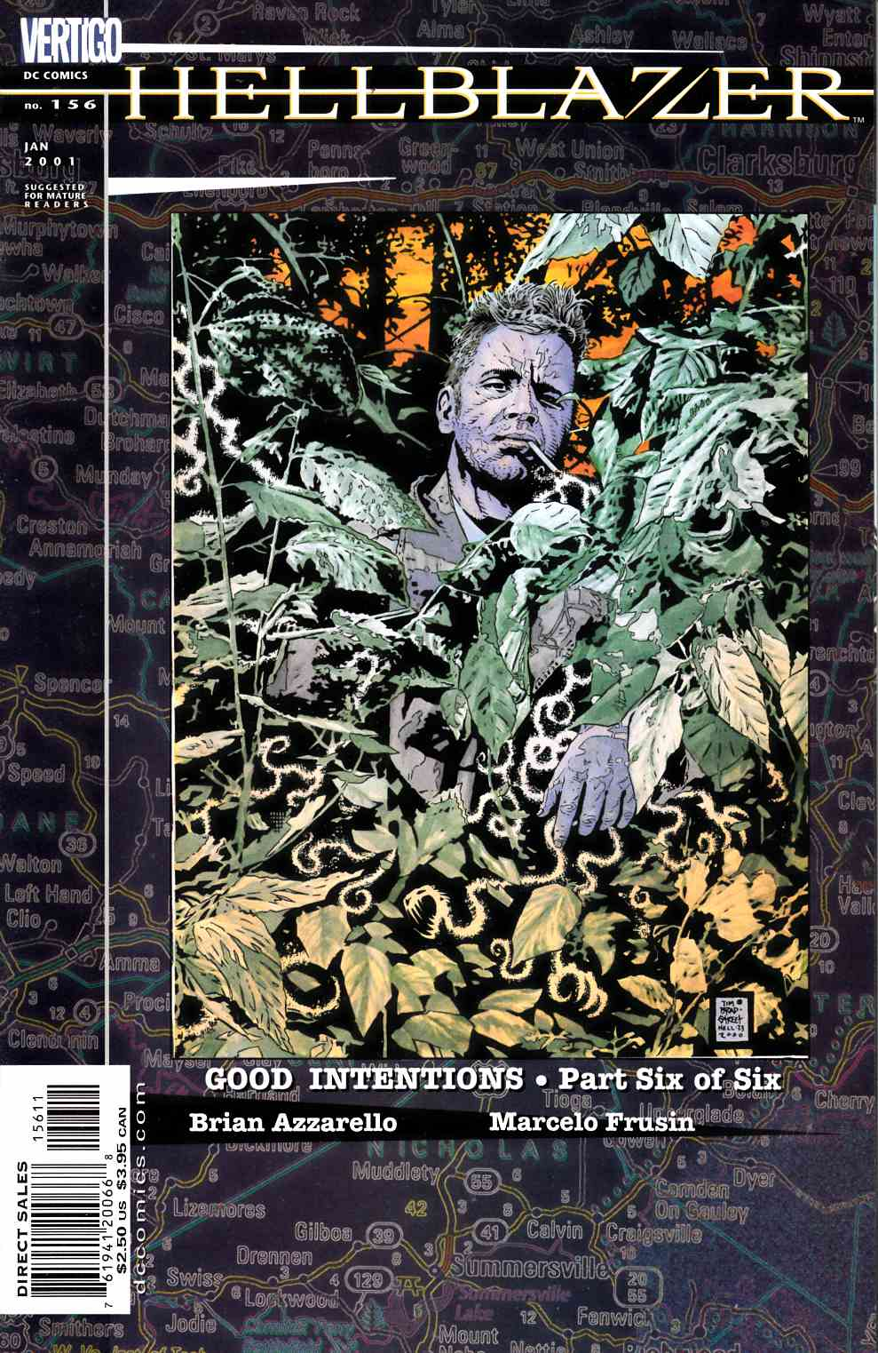 Hellblazer #156 Very Fine (8.0) [DC Comic] LARGE