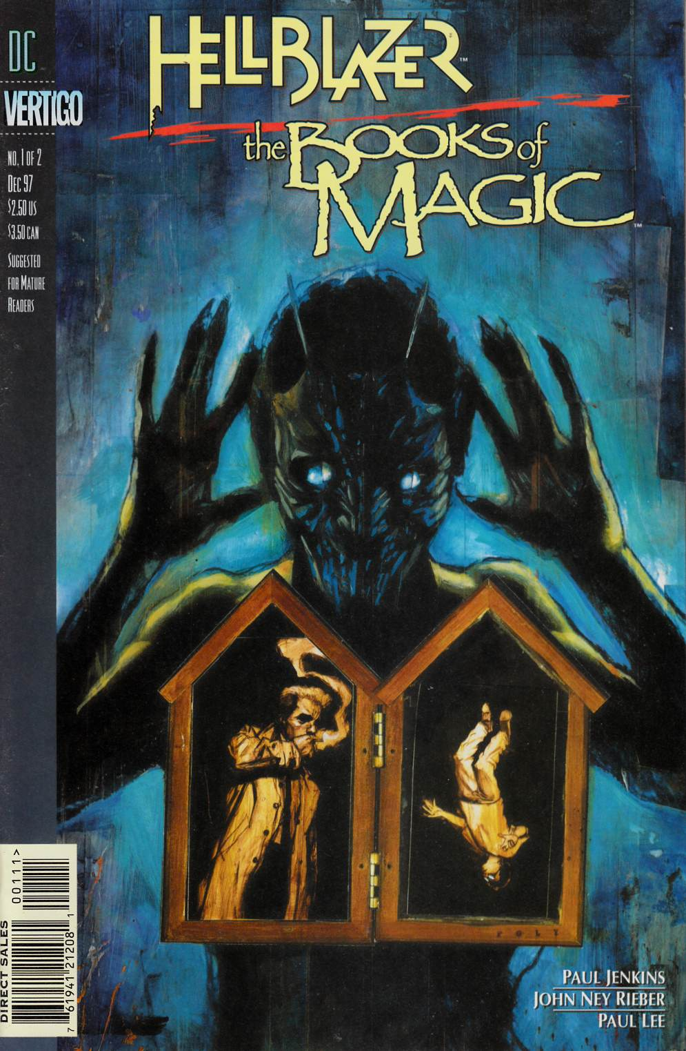 Hellblazer Books of Magic #1 Near Mint (9.4) [DC Comic] THUMBNAIL