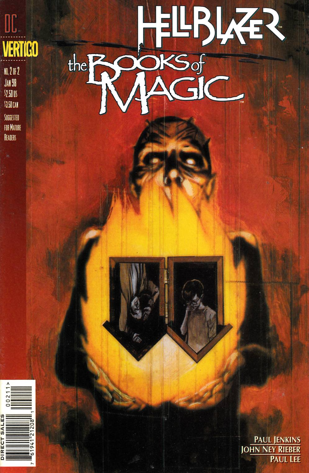 Hellblazer Books of Magic #2 Near Mint (9.4) [DC Comic] THUMBNAIL