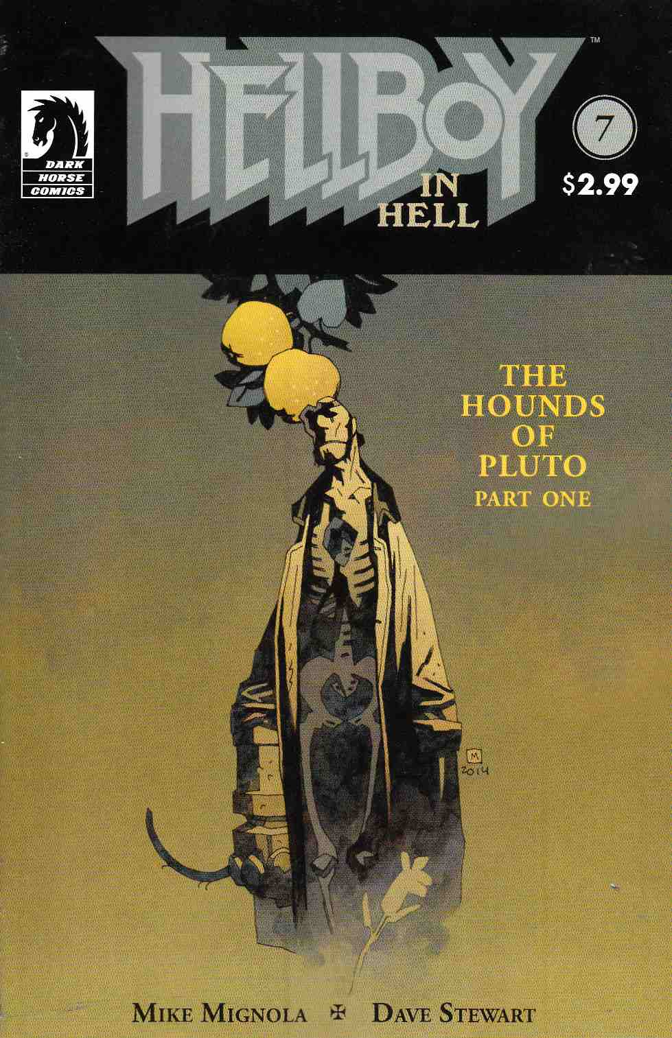 Hellboy In Hell #7 Near Mint (9.4) [Dark Horse Comic]