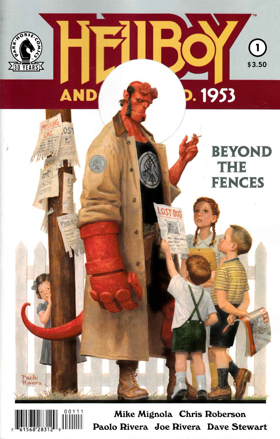 Hellboy & BPRD 1953 Beyond the Fences #1 [Dark Horse Comic]_THUMBNAIL