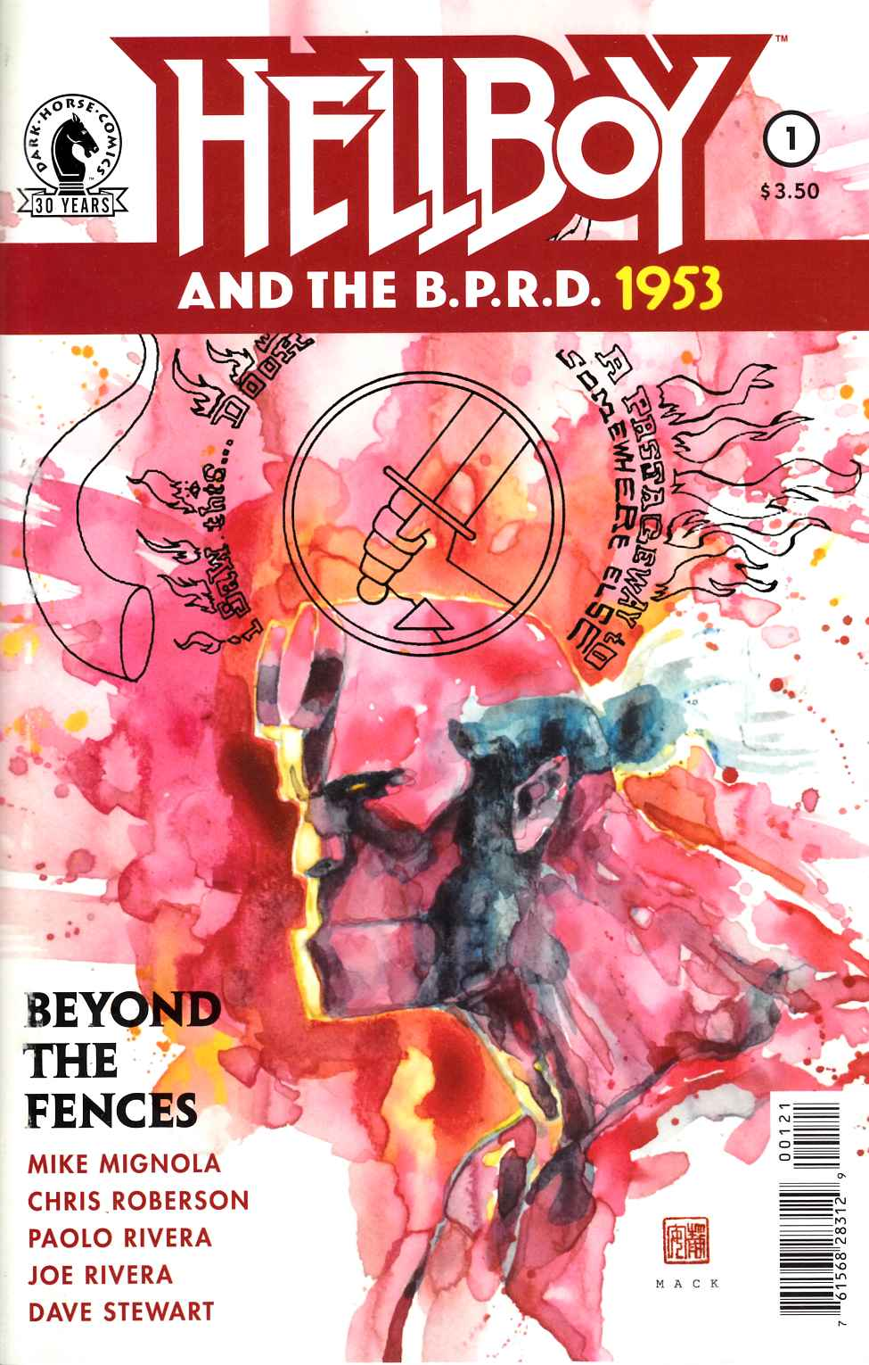 Hellboy & BPRD 1953 Beyond the Fences #1 Mack Variant Cover [Dark Horse Comic]_THUMBNAIL
