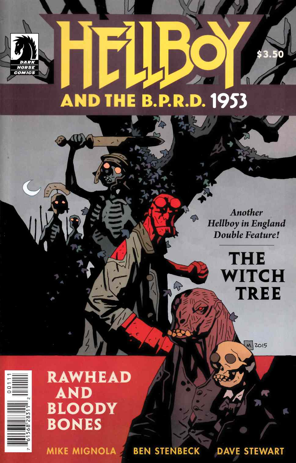 Hellboy BPRD 1953 Witch Tree Rawhead Bloody Bones [Dark Horse Comic] THUMBNAIL