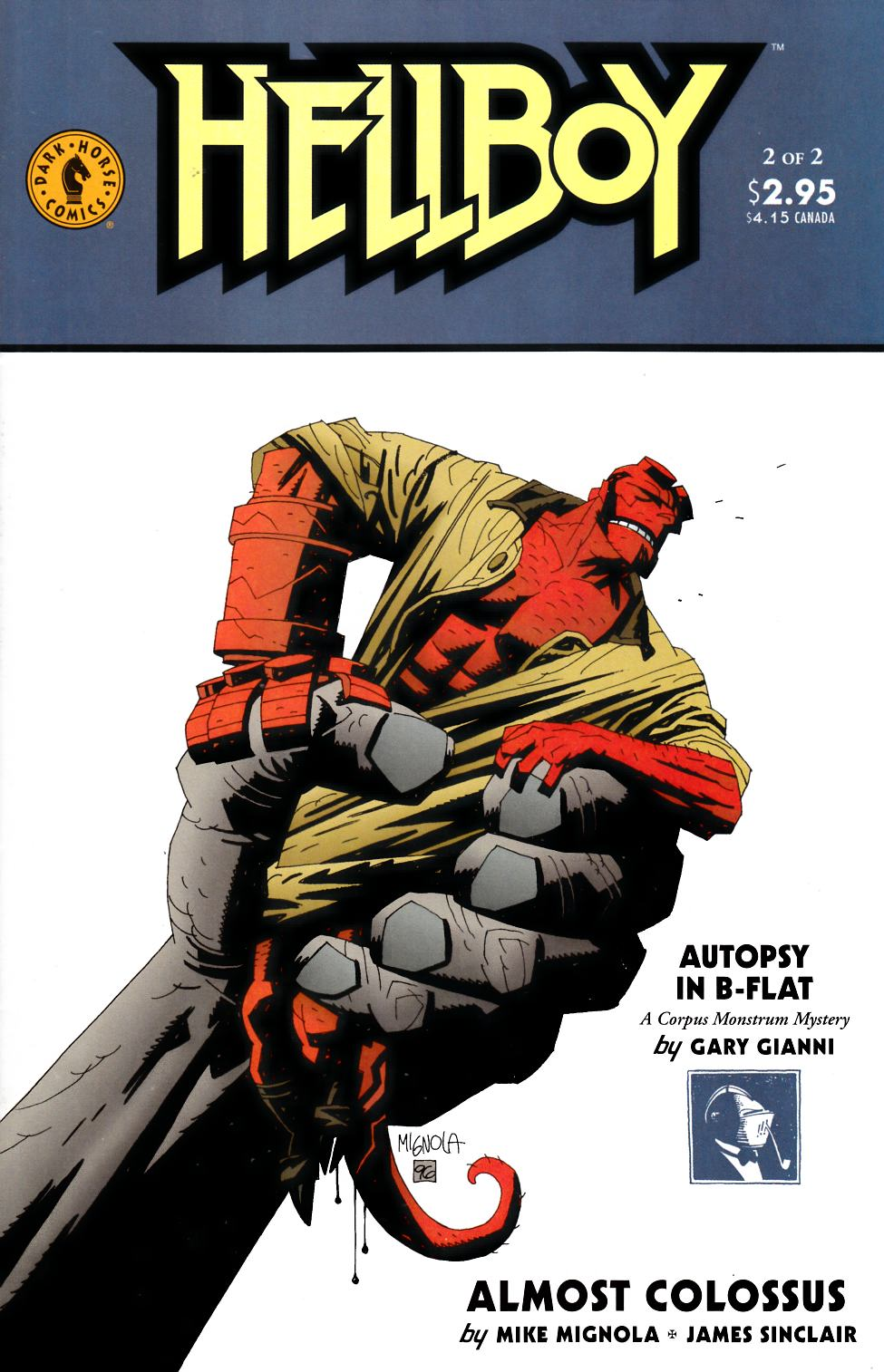 Hellboy Almost Colossus #2 [Dark Horse Comic] THUMBNAIL