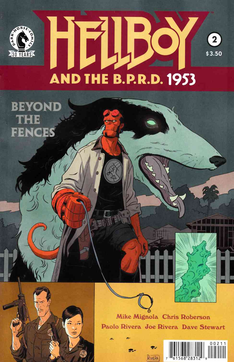 Hellboy & BPRD 1953 Beyond the Fences #2 [Dark Horse Comic]_THUMBNAIL
