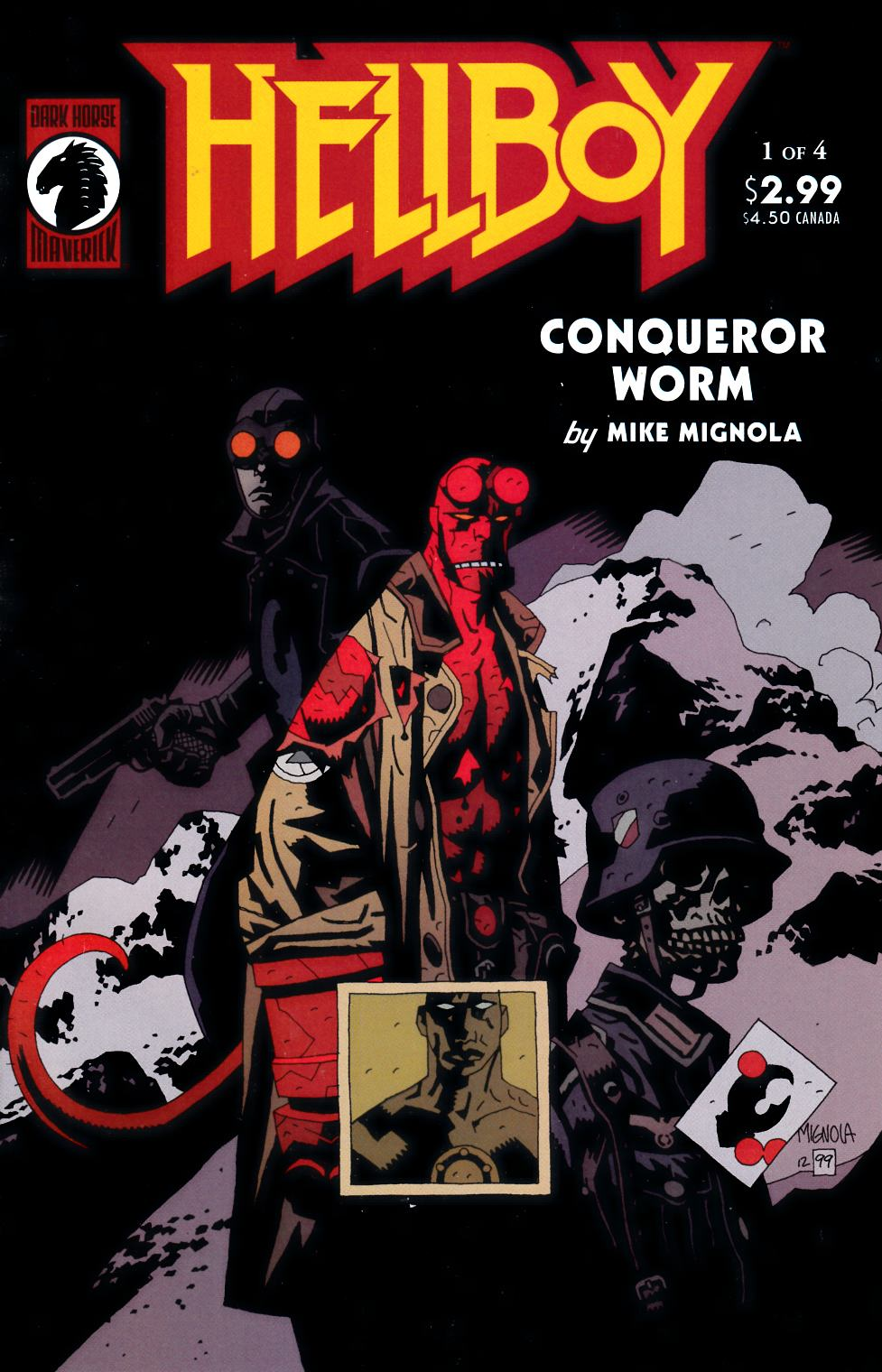 Hellboy Conqueror Worm #1 Near Mint (9.4) [Dark Horse Comic] THUMBNAIL