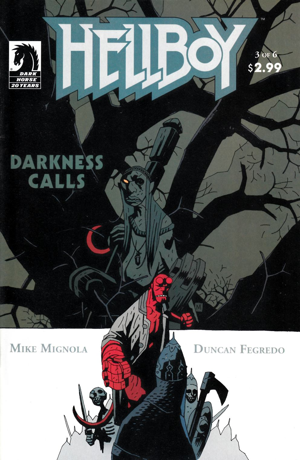 Hellboy Darkness Calls #3 Very Fine Plus (8.5) [Dark Horse Comic] THUMBNAIL