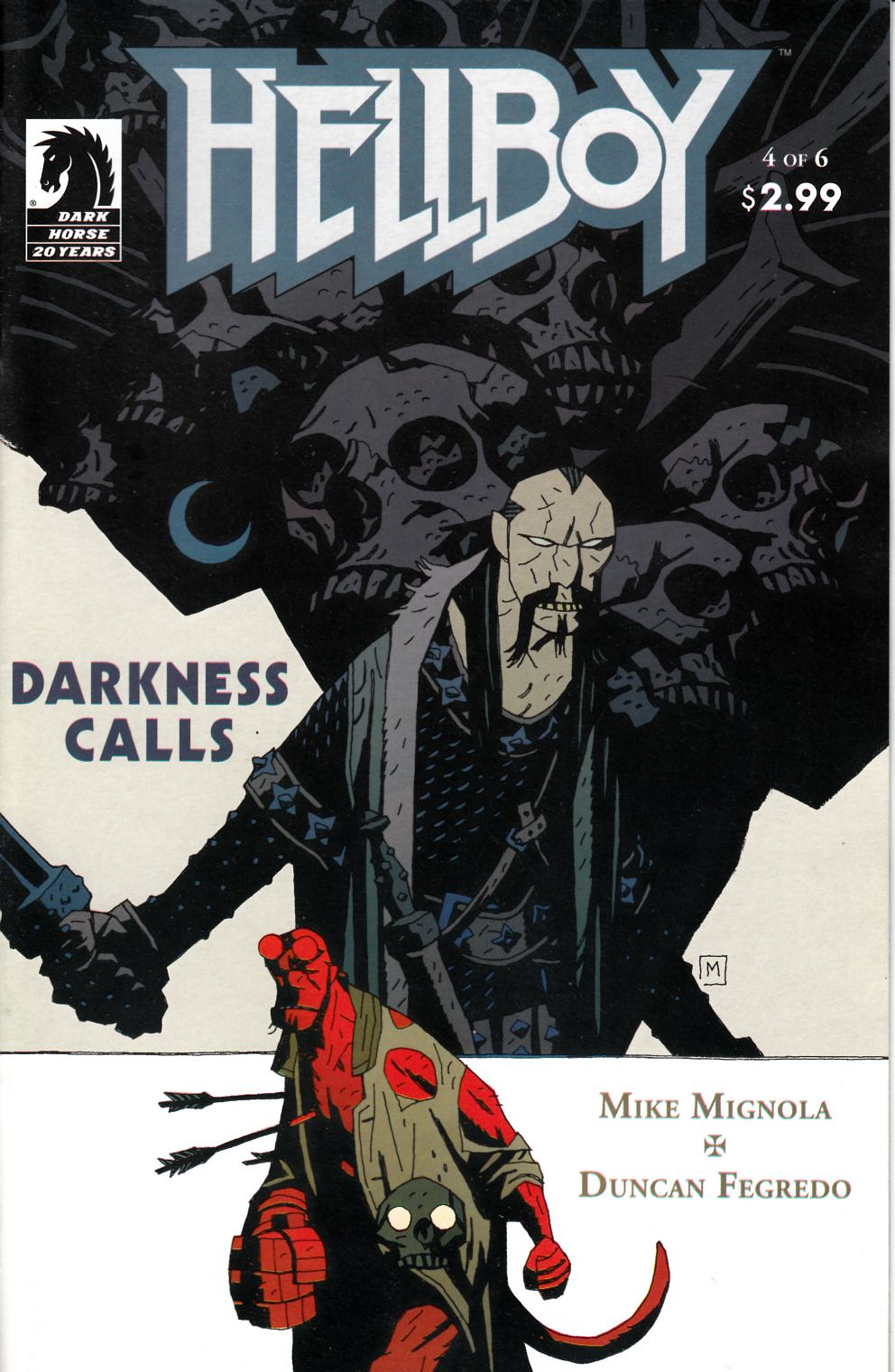 Hellboy Darkness Calls #4 Very Fine (8.0) [Dark Horse Comic] THUMBNAIL