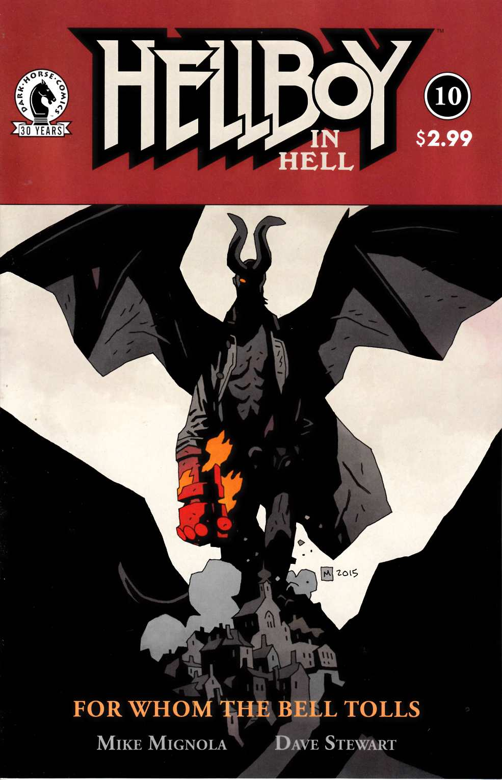 Hellboy In Hell #10 [Dark Horse Comic] THUMBNAIL