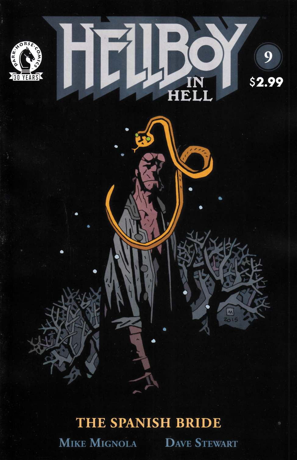 Hellboy In Hell #9 [Dark Horse Comic] LARGE