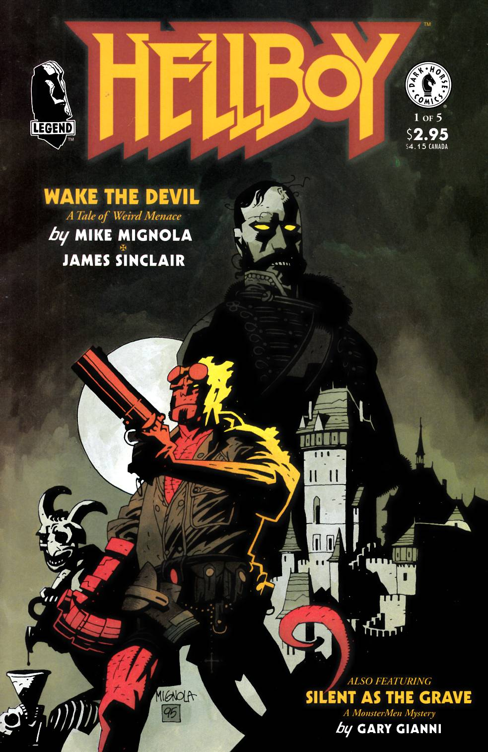 Hellboy Wake the Devil #1 [Dark Horse Comic]