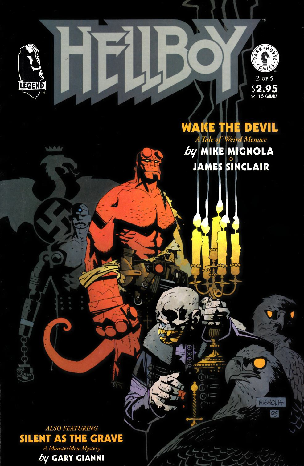 Hellboy Wake the Devil #2 [Dark Horse Comic]