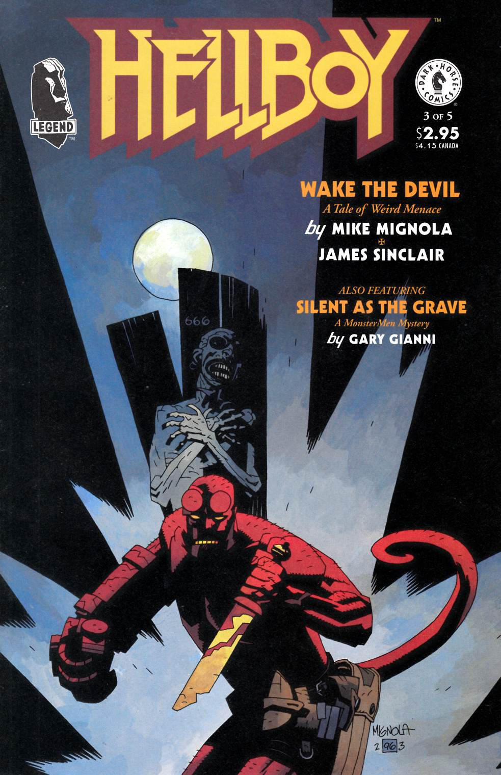 Hellboy Wake the Devil #3 [Dark Horse Comic]