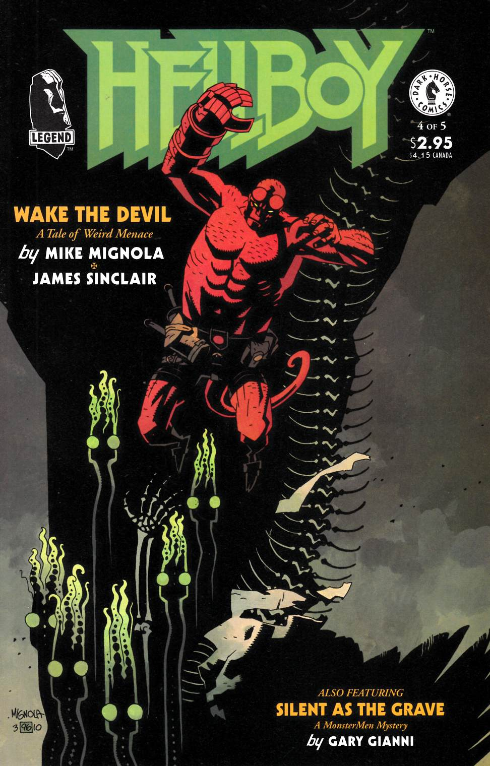 Hellboy Wake the Devil #4 [Dark Horse Comic]