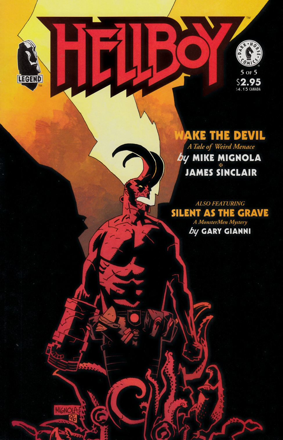 Hellboy Wake the Devil #5 [Dark Horse Comic]