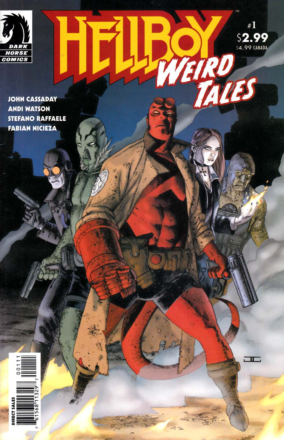 Hellboy Weird Tales #1 Near Mint (9.4) [Dark Horse Comic]_THUMBNAIL