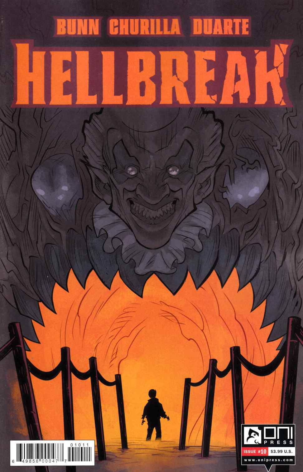 Hellbreak #10 [Oni Press Comic] THUMBNAIL