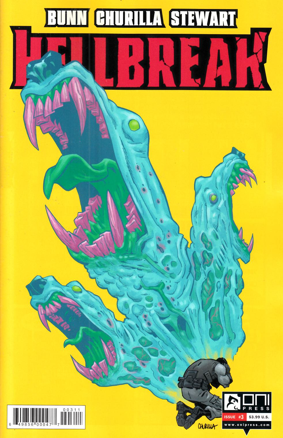 Hellbreak #3 [Oni Press Comic] THUMBNAIL