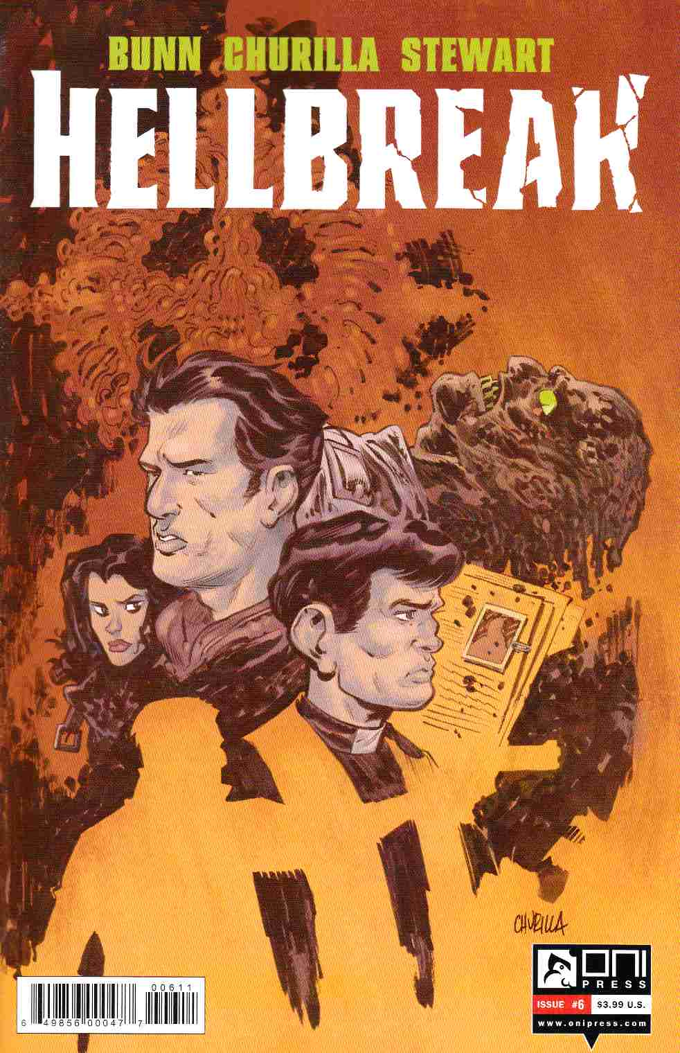 Hellbreak #6 [Oni Press Comic] THUMBNAIL