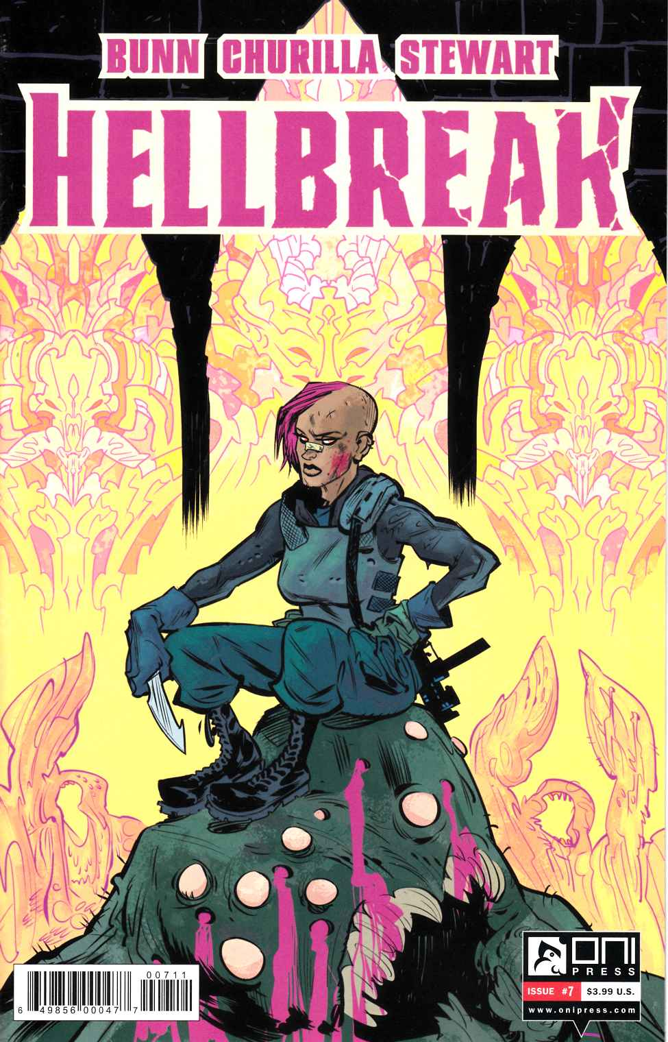 Hellbreak #7 [Oni Press] THUMBNAIL
