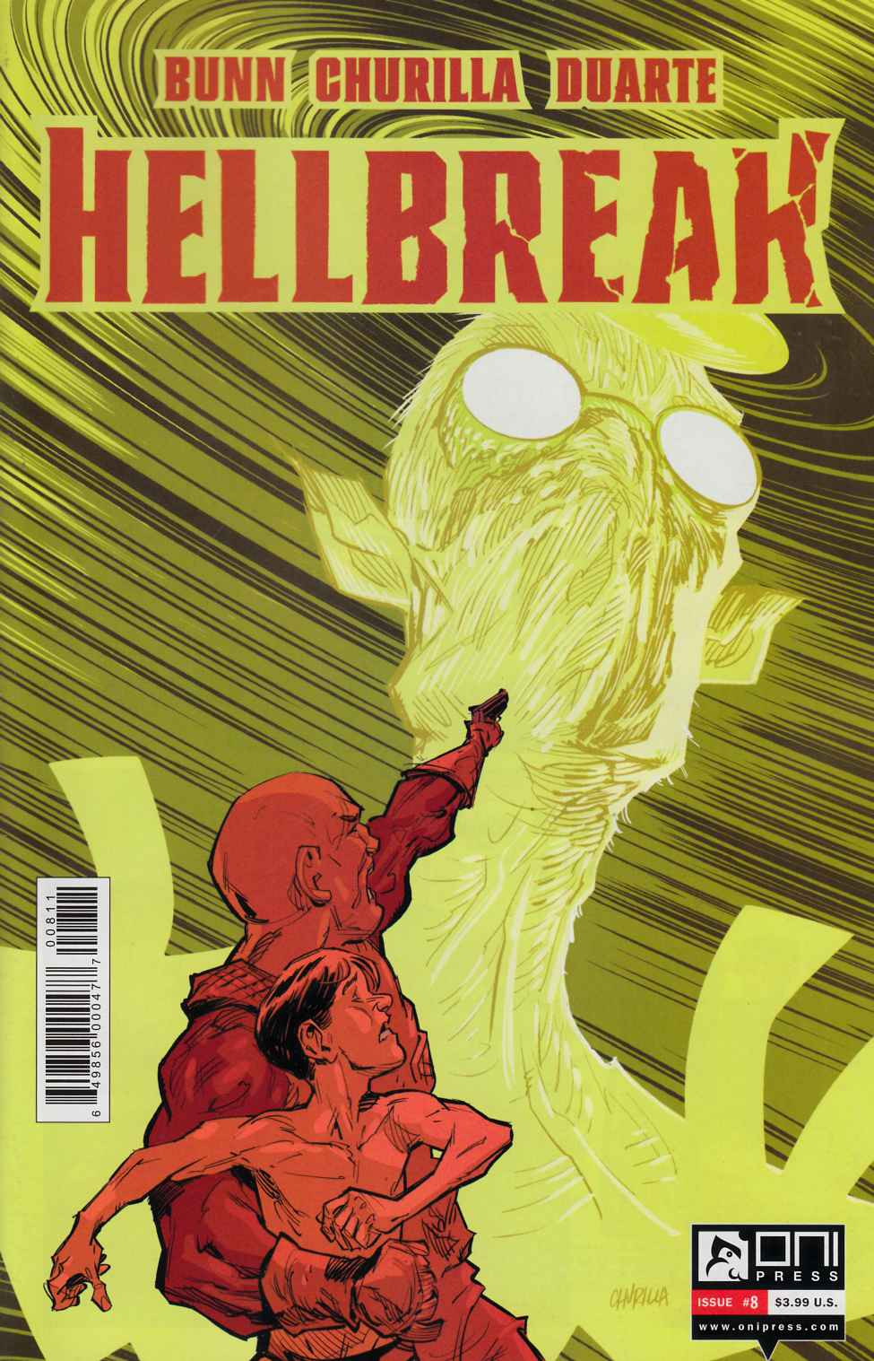 Hellbreak #8 [Oni Comic] THUMBNAIL