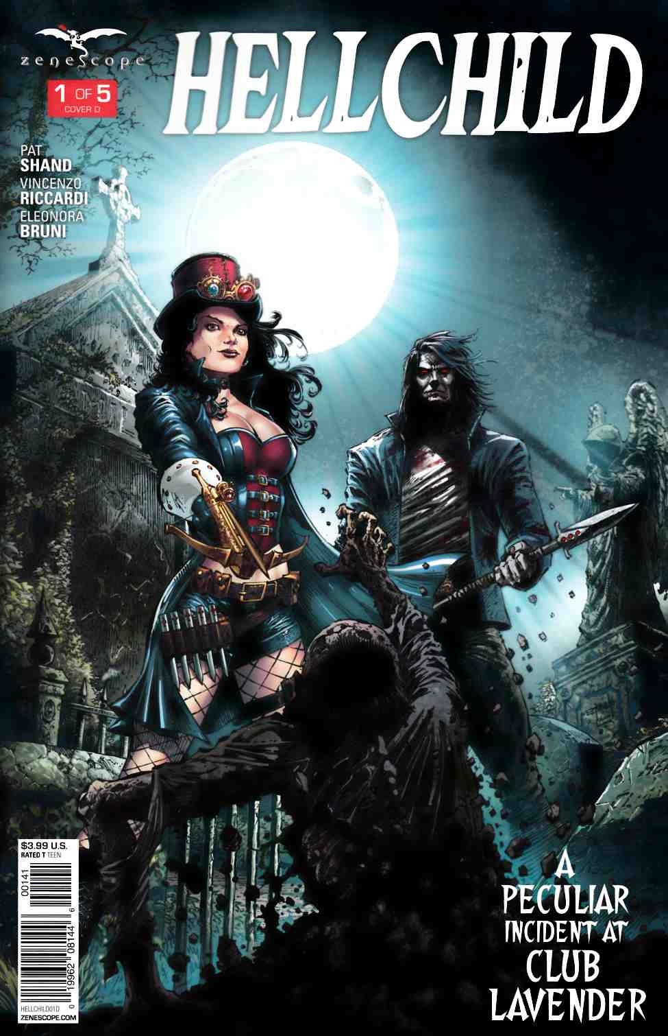 GFT Hellchild #1 Cover D [Zenescope Comic]