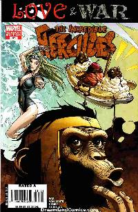 Incredible Hercules #121 Monkey Variant Cover Near Mint (9.4) [Marvel Comic] LARGE