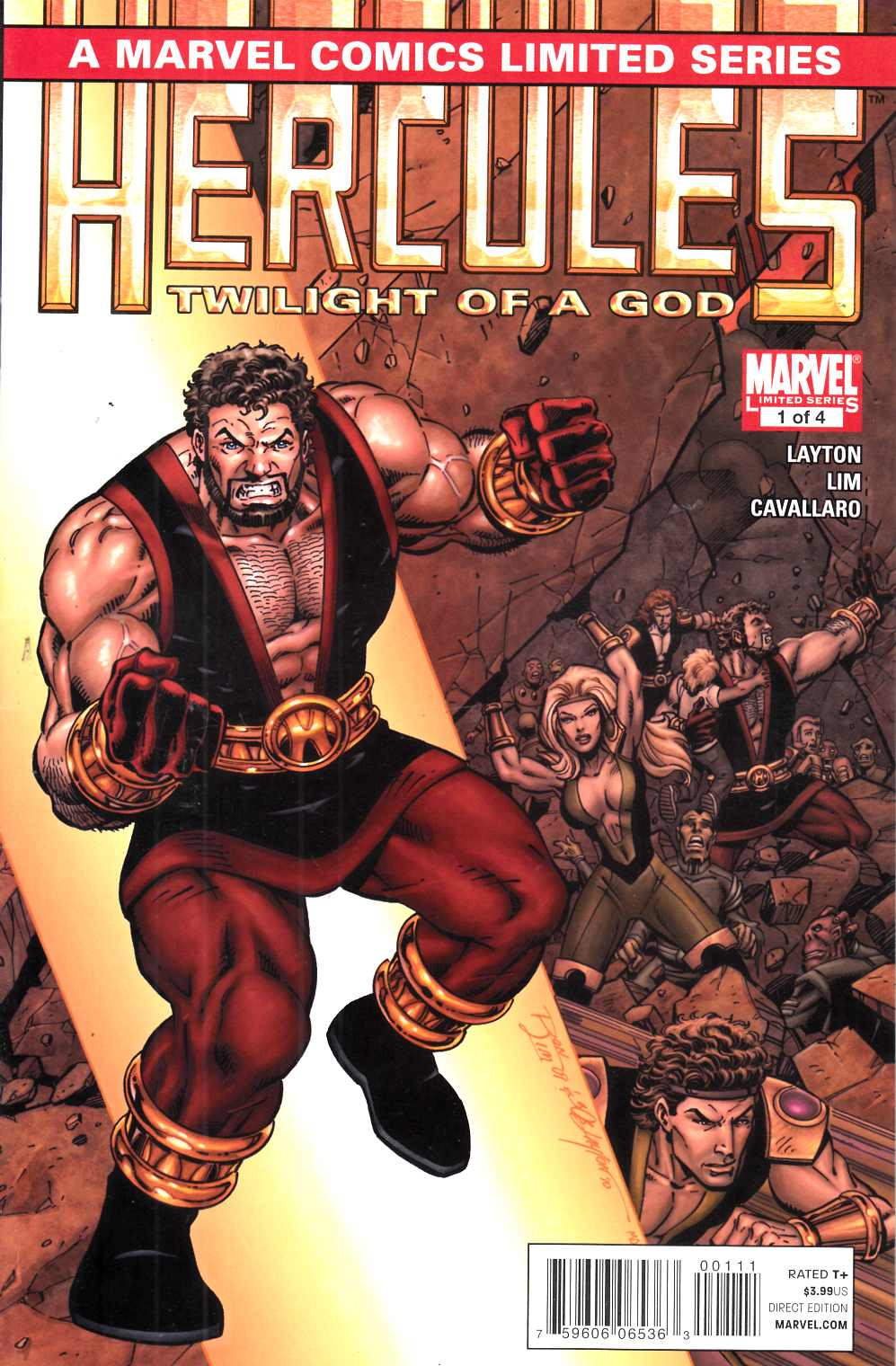 Hercules Twilight of a God #1 Very Fine (8.0) [Marvel Comic] THUMBNAIL