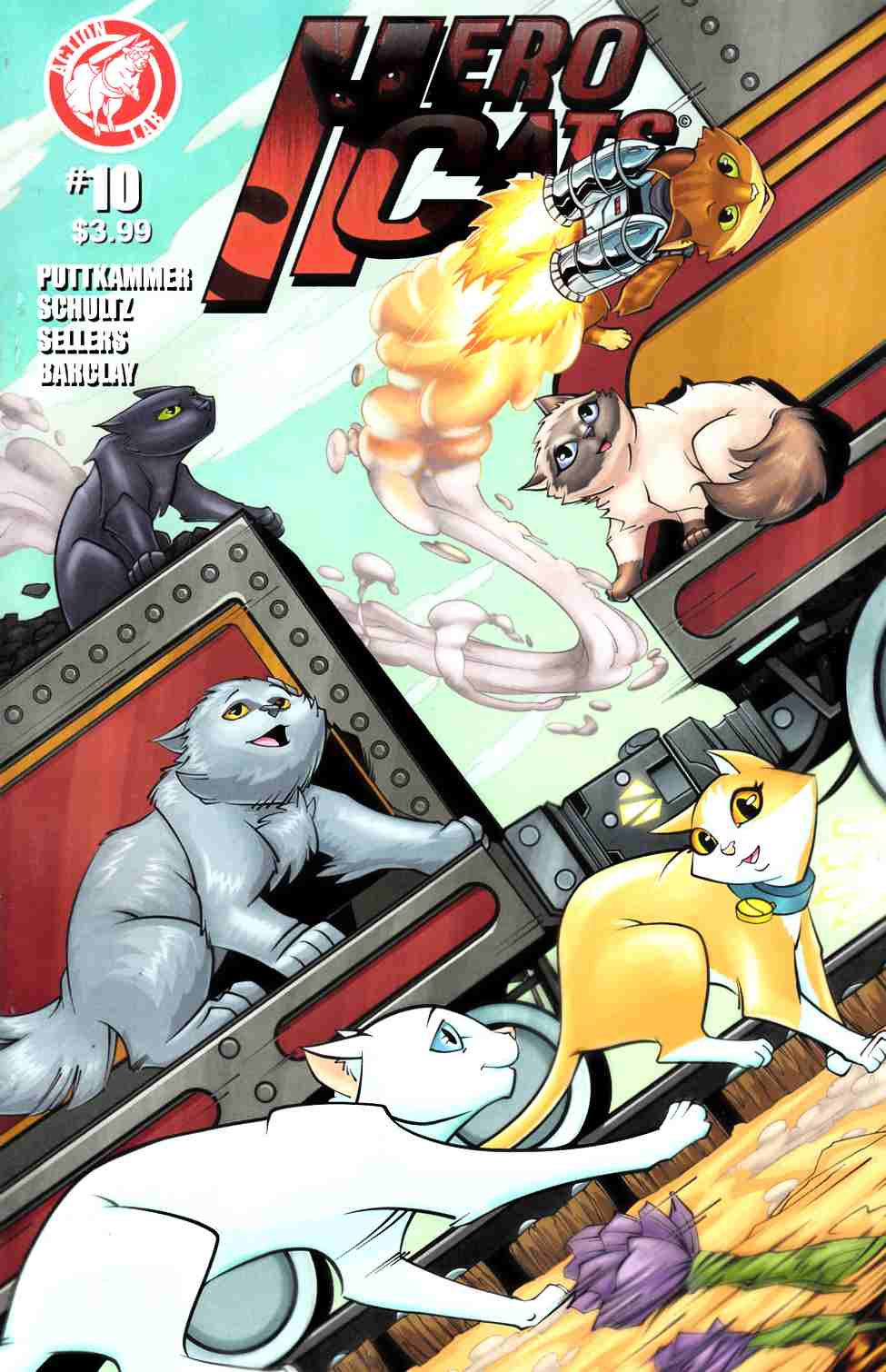 Hero Cats #10 [Action Lab Comic] LARGE
