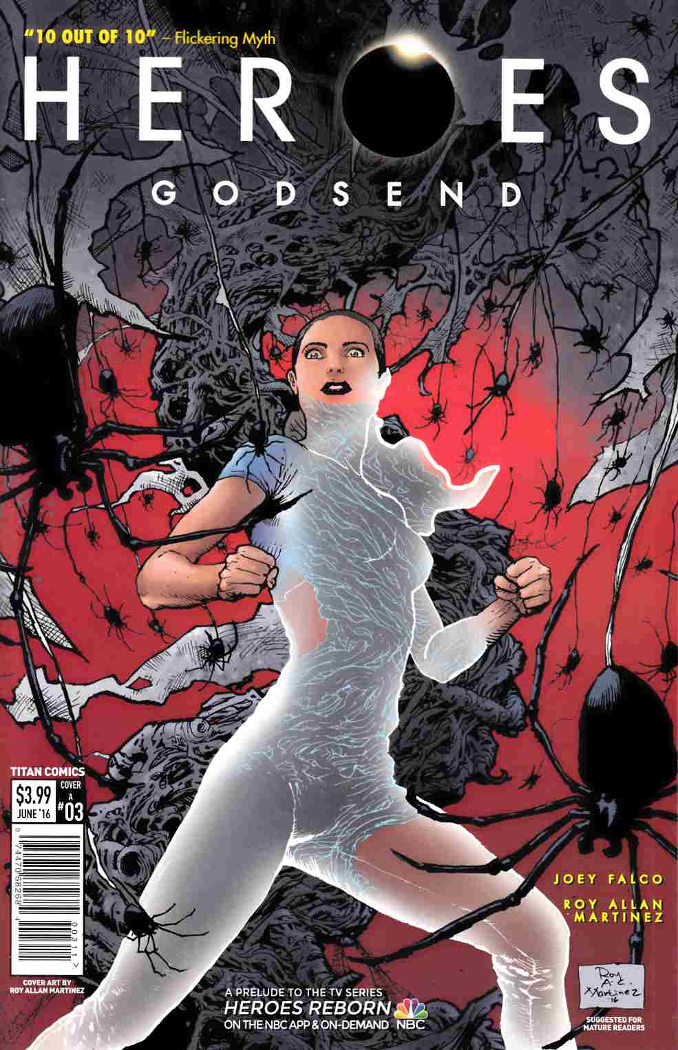 Heroes Godsend #3 Cover A [Titan Comic] LARGE
