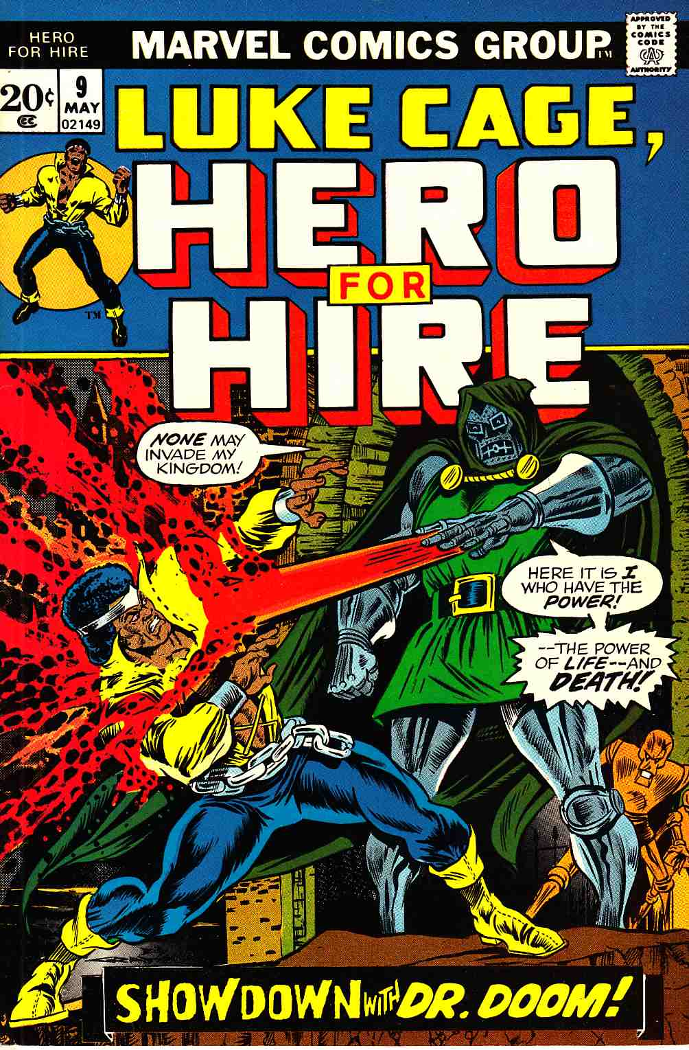 Hero For Hire #9 [Marvel Comic] LARGE