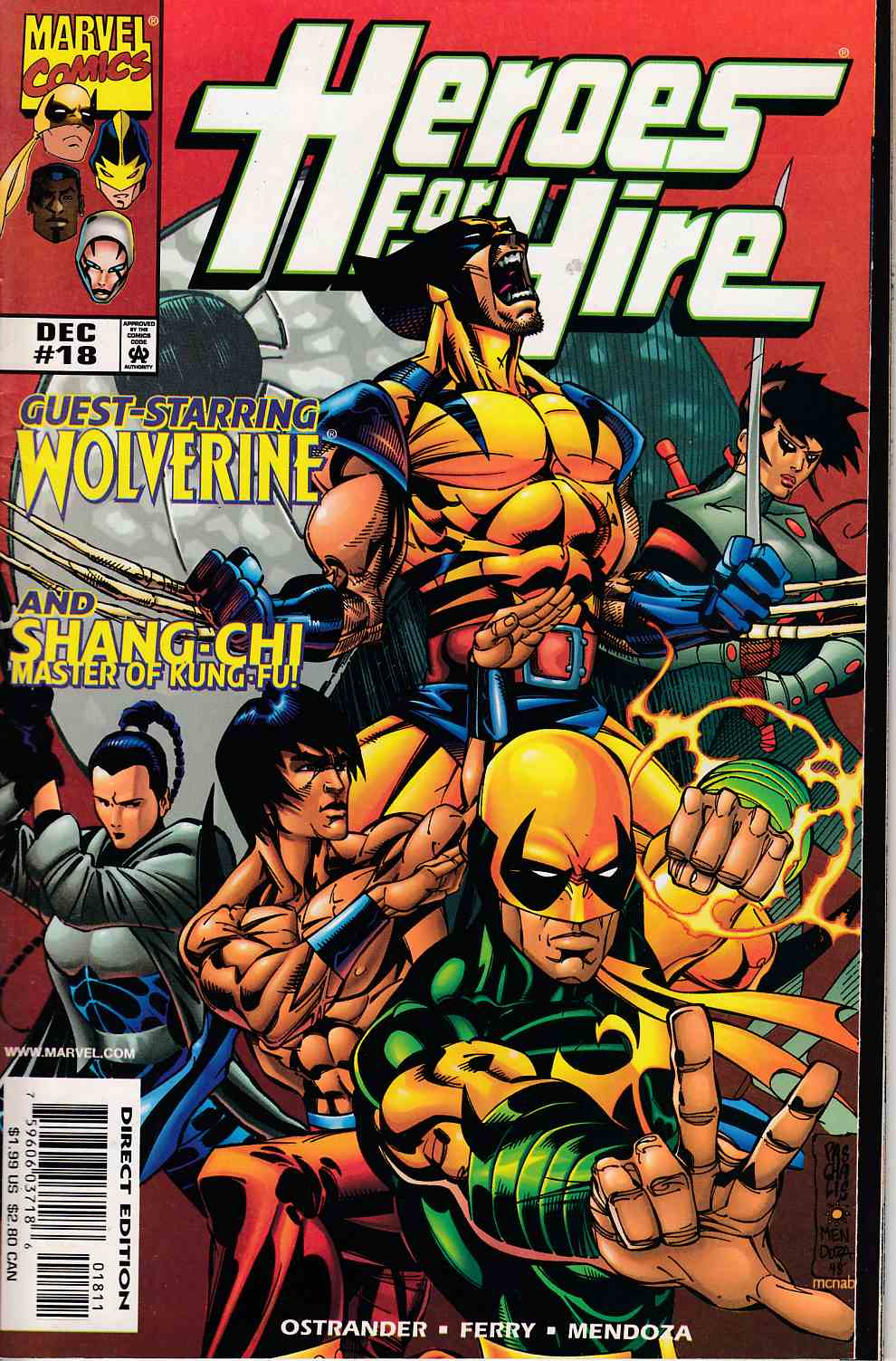 Heroes for Hire #18 Very Fine (8.0) [Marvel Comic] LARGE