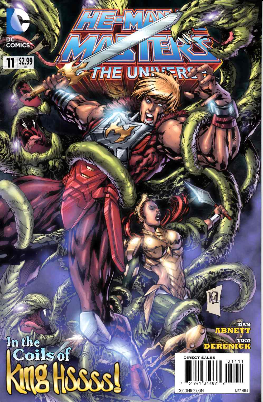 He Man and The Masters of the Universe #11 Very Fine (8.0) [DC Comic] THUMBNAIL