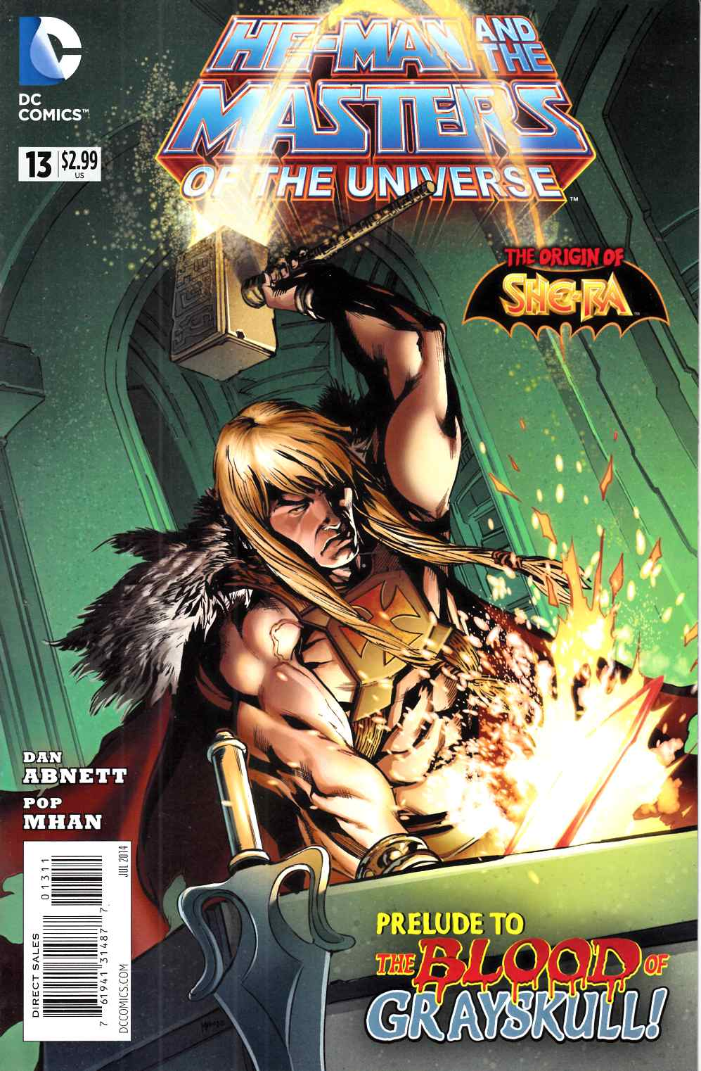 He Man and the Masters of the Universe #13 Very Fine (8.0) [DC Comic] THUMBNAIL