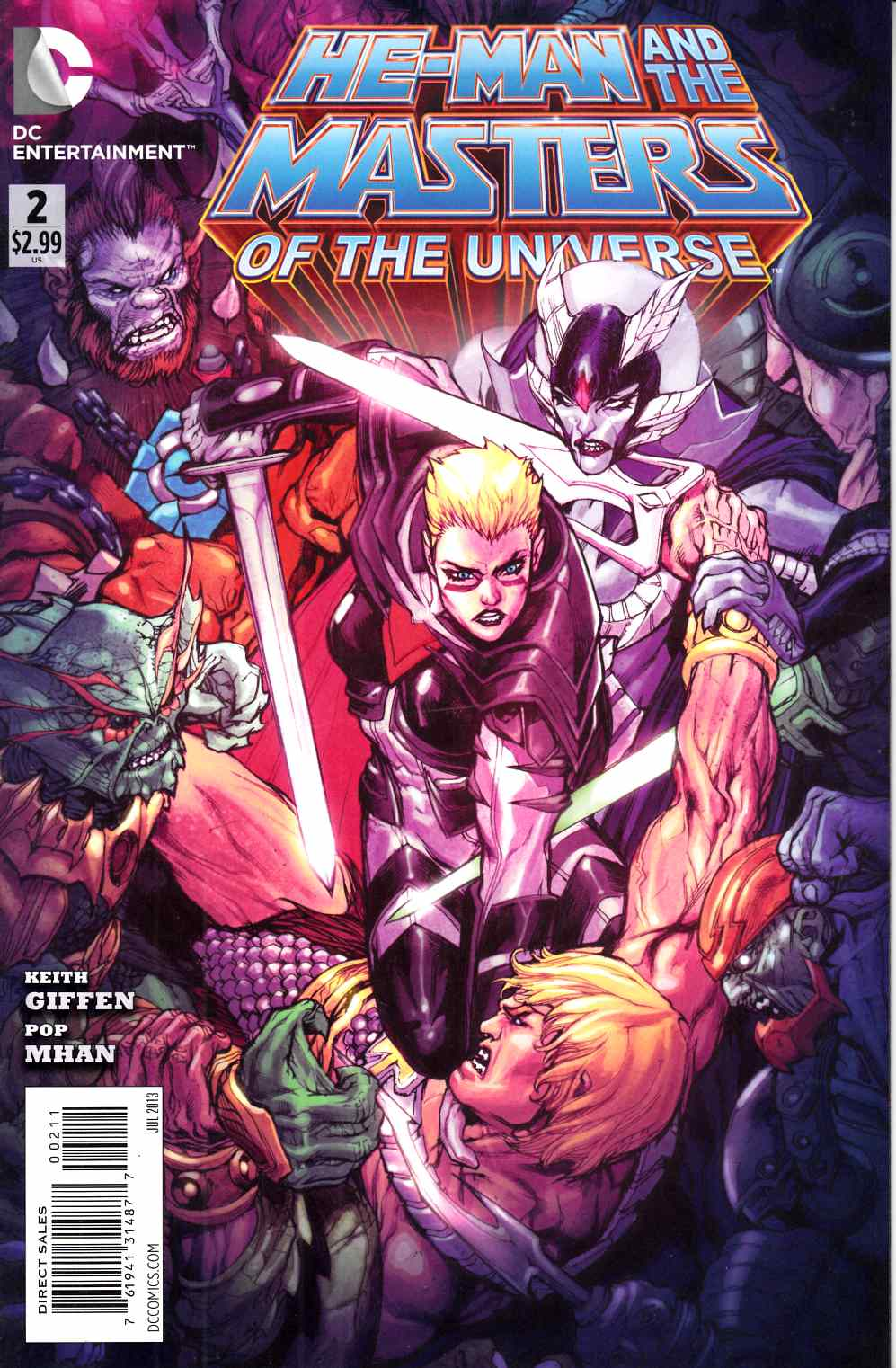 He Man and the Masters of the Universe #2 Very Fine (8.0) [DC Comic] THUMBNAIL