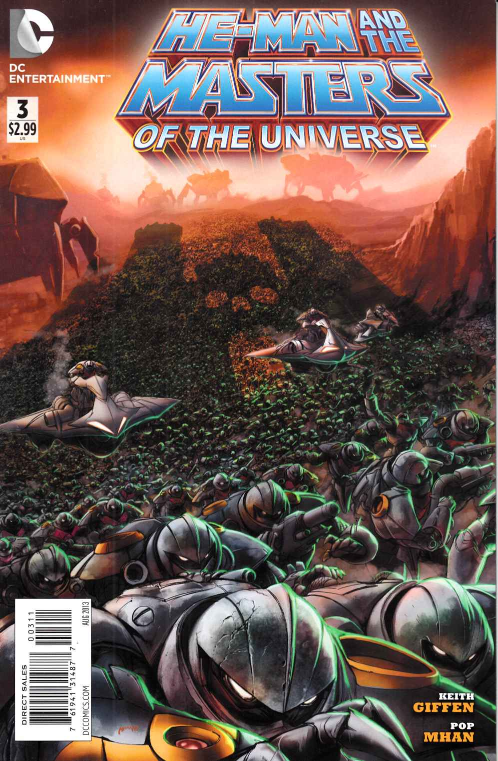 He Man and the Masters of the Universe #3 Very Fine (8.0) [DC Comic] THUMBNAIL