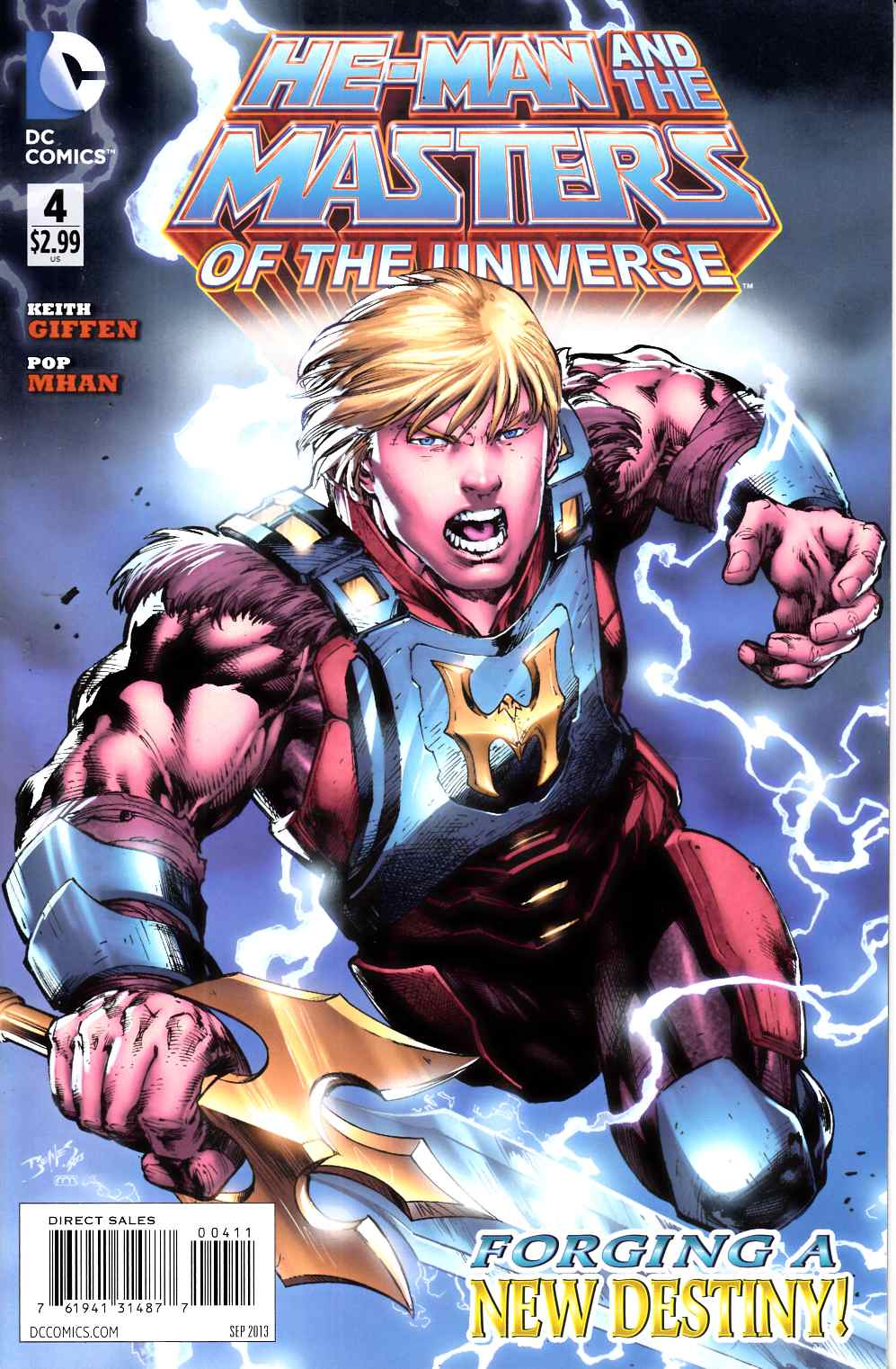 He Man and the Masters of the Universe #4 Very Fine (8.0) [DC Comic] THUMBNAIL