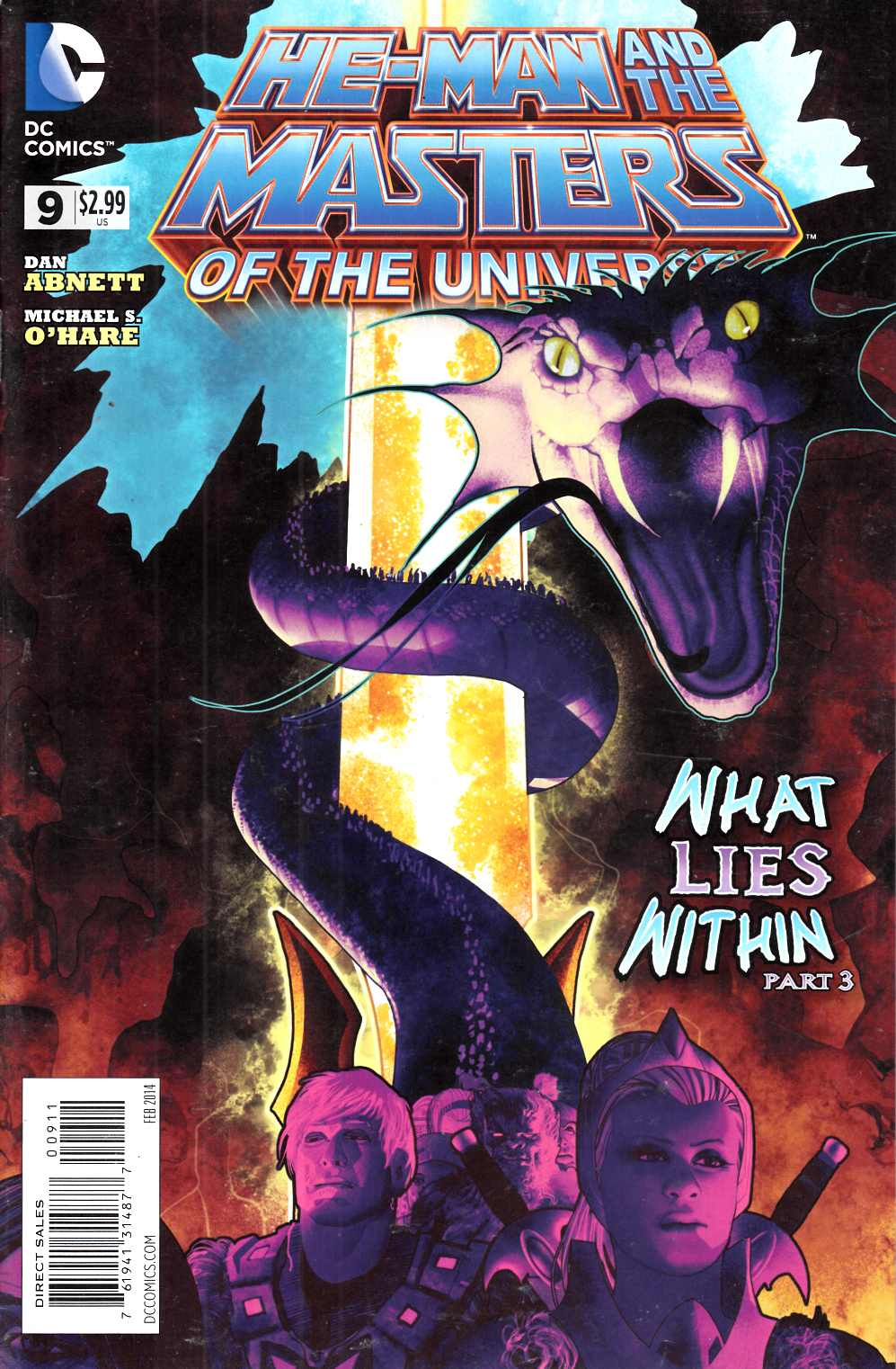 He Man and the Masters of the Universe #9 Very Fine Minus (7.5) [DC Comic] THUMBNAIL