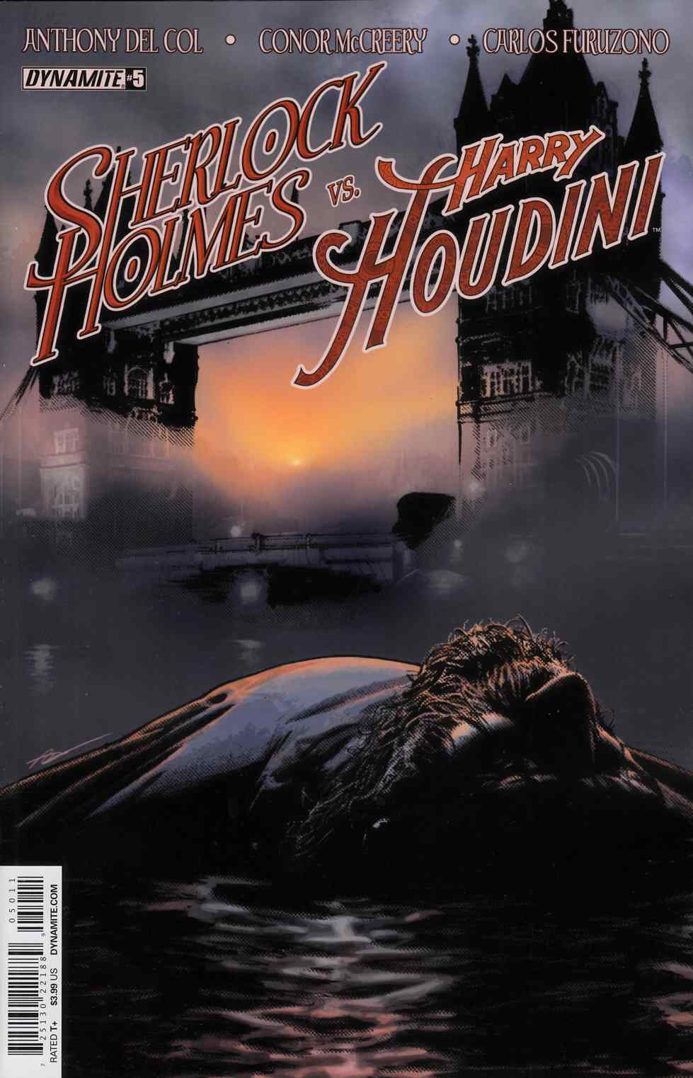 Holmes Vs Houdini #5 Cover A- Campbell [Dynamite Comic]