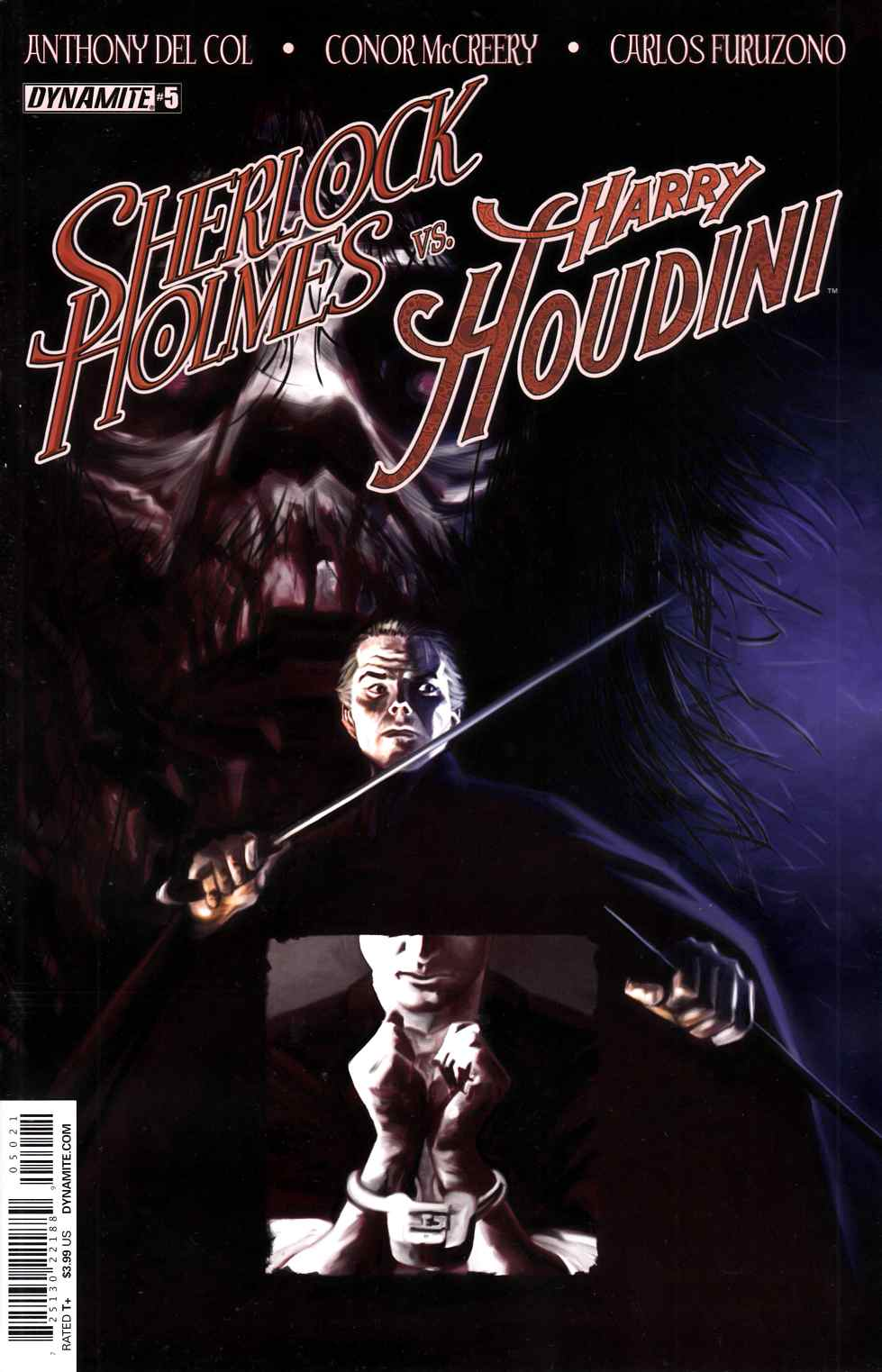 Holmes Vs Houdini #5 Cover B- Worley [Dynamite Comic] LARGE